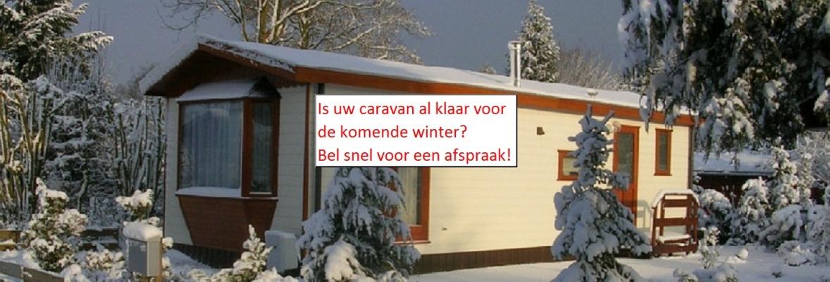 winterklaar maken caravan